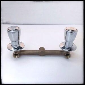 mezcladora de ducha trebol con perilla