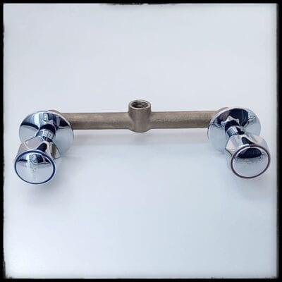 mezcladora de ducha trebol modelo iris