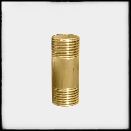 Niple de bronce