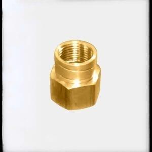 Reducción campana de bronce pesado