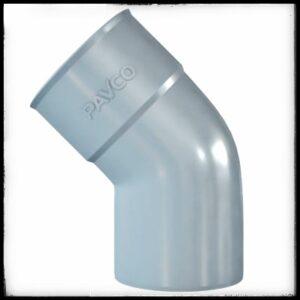 Codo de PVC