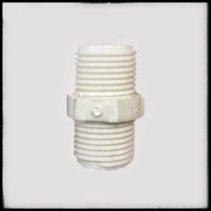 Niple PVC Pavco con cintura